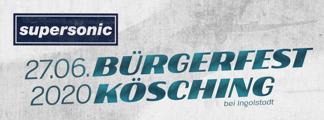 Bürgerfest Kösching 2020